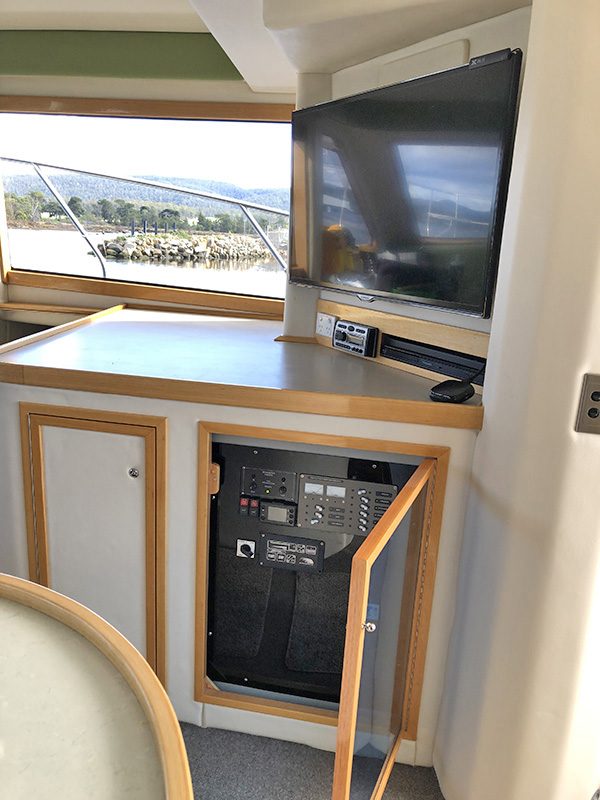 Saloon-Switch-Panel-and-Television